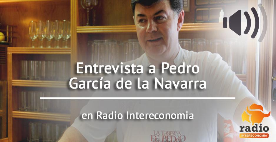 Entrevista a Pedro García de la Navarra en Radio Intereconomía