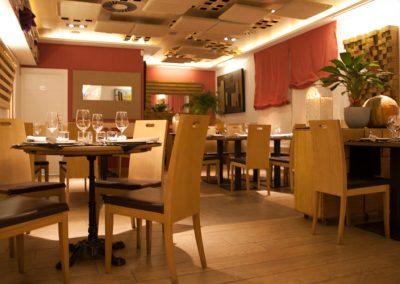 Salón Comedor Restaurante Vinoteca García de la Navarra
