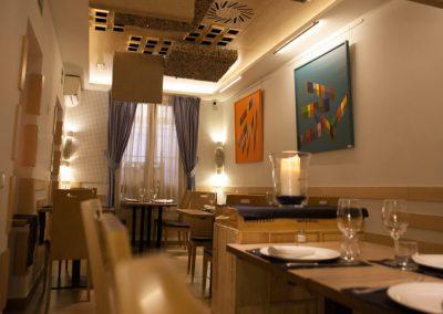 Mesas Restaurante Vinoteca García de la Navarra