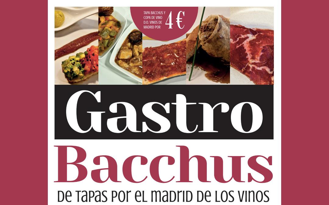 Gastro Bacchus, un delicioso recorrido por las mejores tapas vinícolas