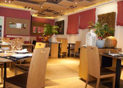Sala Comedor Restaurante Vinoteca García de la Navarra